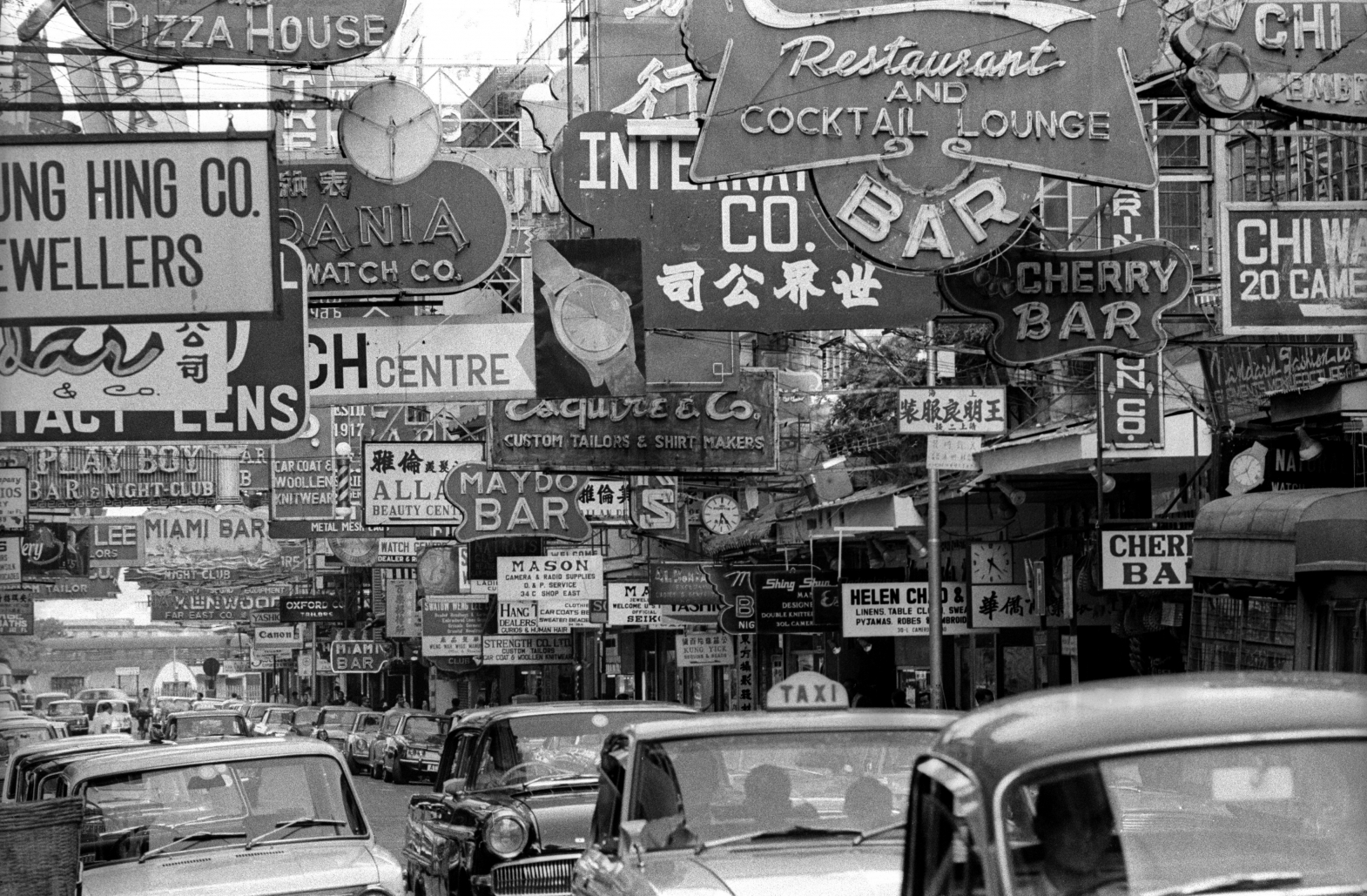 EXCLUSIVELY FEATURED BY EASTPRO - hong kong 1969 - wanchai red light district foreign